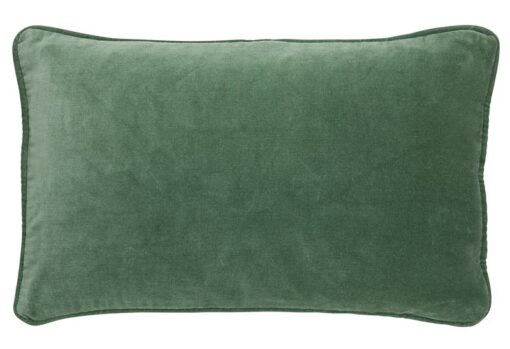 kussen groen velvet ivy bungalow