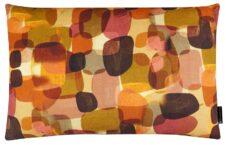 kussen oranje geel pebbles langwerpig