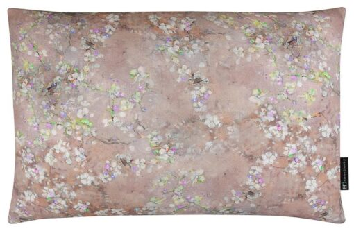 kussen roze bloesem langwerpig