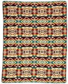 sprei mutlicolor alpacawol beige plaid Chimborazo
