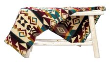 sprei plaid multicolor alpacawol Chimborazo