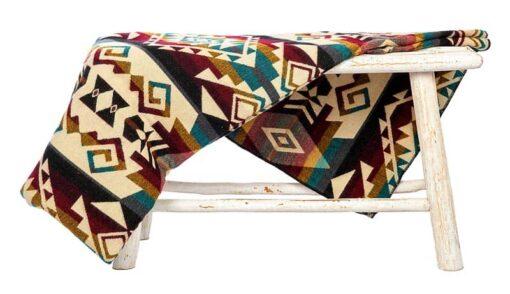 sprei plaid multicolor alpacawol Chimborazo