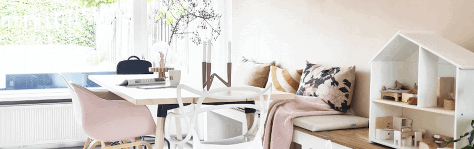 Geef je huis een opfrisbeurt met frisse voorjaarskleuren
