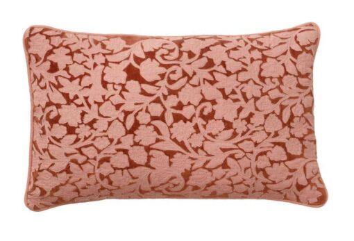 kussen terracotta lily velvet bungalow