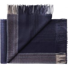 plaid blauw beige ruiten alpacawol silkeborg bogota