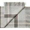 plaid grijs alpacawol ruiten silkeborg