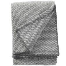 plaid grijs lamswol klippan domino