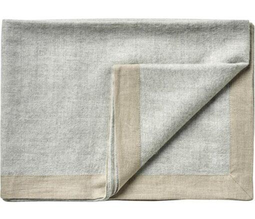 plaid lichtgrijs alpacawol linnen silkeborg