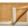 plaid okergeel alpacawol linnen silkeborg