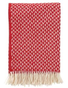 plaid rood wol klippan anna