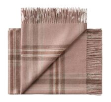 plaid roze ruiten alpacawol silkeborg