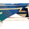 sprei blauw plaid alpacawol imbabura