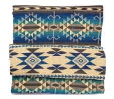 sprei blauw plaid cotopaxi alpacawol