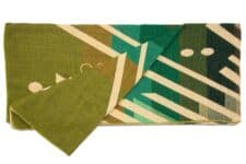 sprei groen plaid alpacawol Imbabura