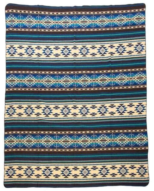sprei plaid blauw Cotopaxi alpacawol