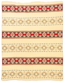 sprei rood blauw plaid alpacawol Cotopaxi multi