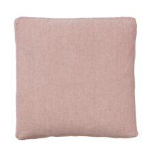 zitkussen roze linnen katoen