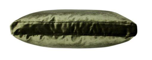 Kussen groen velours raaf luxe