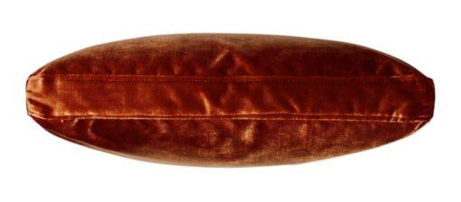 Kussen oranje velours raaf luxe