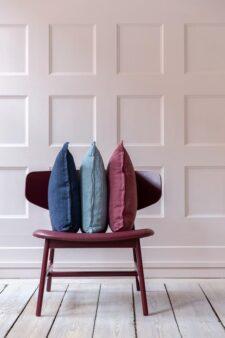 kussens linnen bungalow blauw roze tourmaline melrose