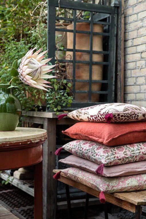 kussens roze bungalow elderflower deoly