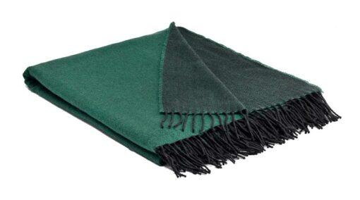plaid groen emerald reversible wol McNutt