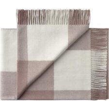 plaid roze wit alpacawol blokken silkeborg