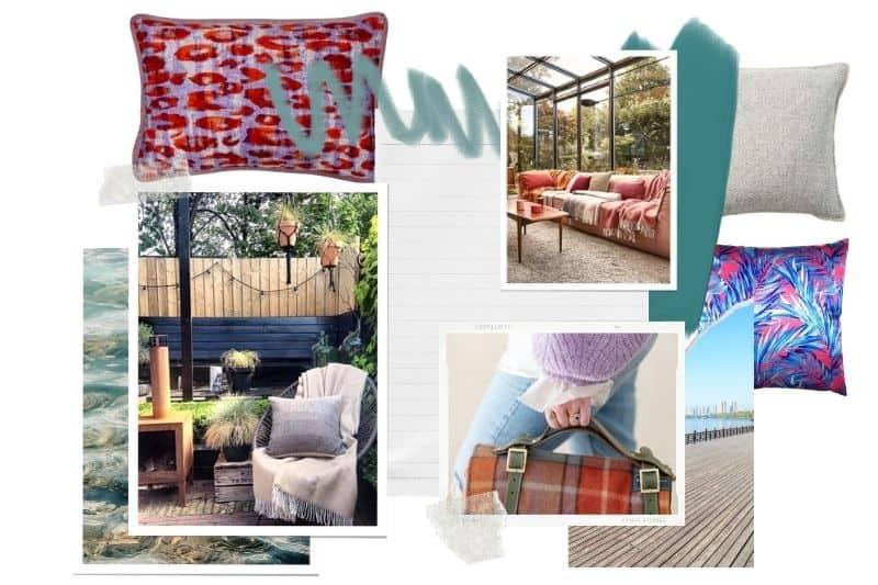 Colorblocken in huis en tuin