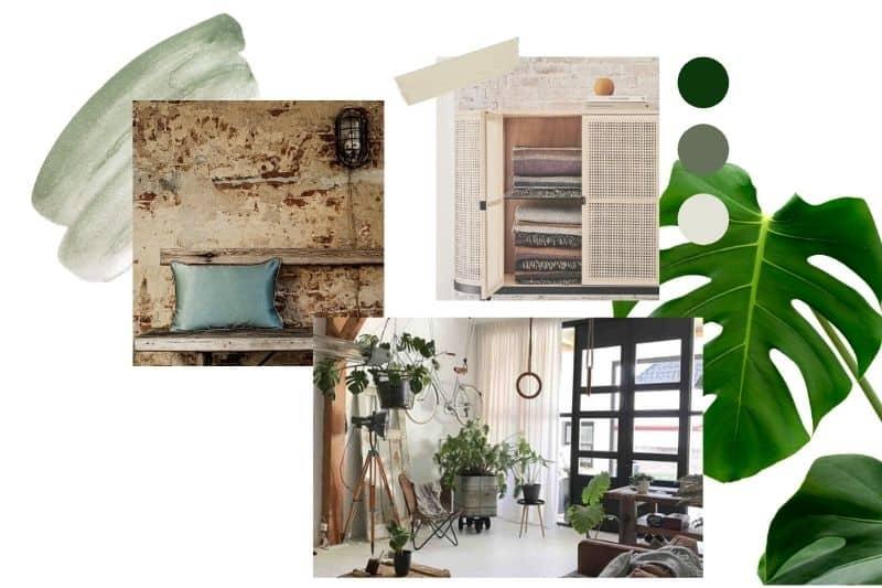 industrieel groen design