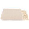 plaid beige katoen ottoman zand