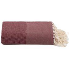 plaid bordeaux katoen grand foulard