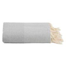 plaid lichtgrijs grand foulard katoen