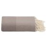 plaid taupe grand foulard katoen