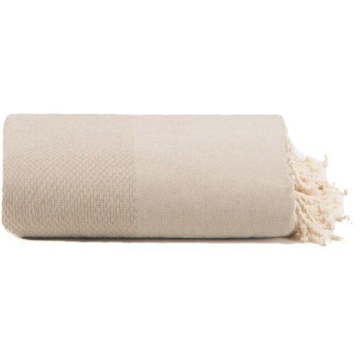plaid zand katoen grand foulard