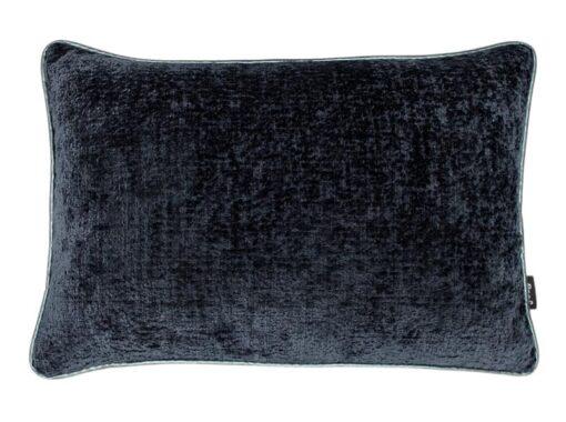 Kussen donkerblauw meubelstof Raaf Hotel