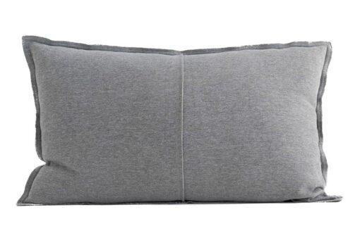 Kussen jersey katoen grijs moyha comfy