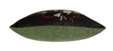 Kussen multicolour zwart groen meubelstof Raaf Stilleven