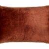 Kussen oranje meubelstof groot Raaf Dion