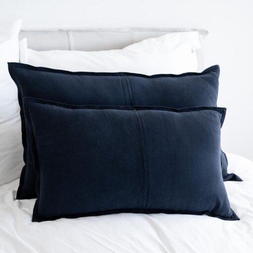 Kussens donkerblauw jersey katoen moyha comfy