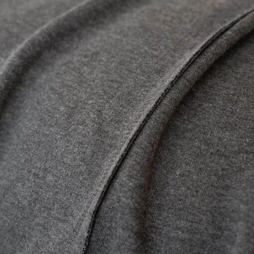Sprei katoen graphite grijs