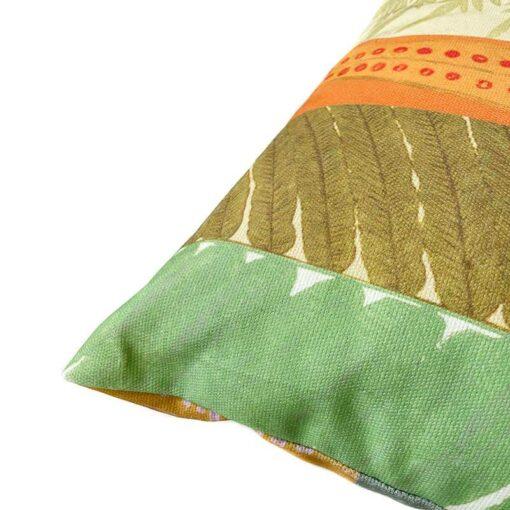 Groen sierkussen botanisch lomaria