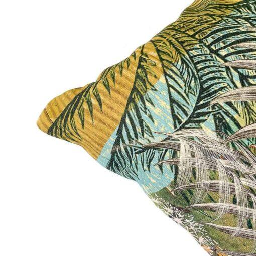 Katoenen kussen botanische print