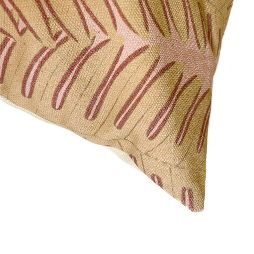 Sierkussen katoen botanische print
