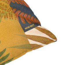 Sierkussen katoen geel botanisch