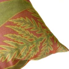 Sierkussen katoen groen bladeren lomaria