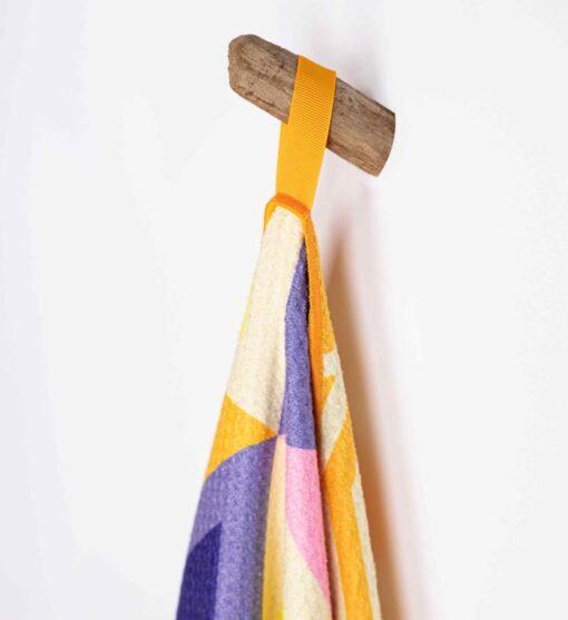 Strandlaken met ophanglus kleurrijk