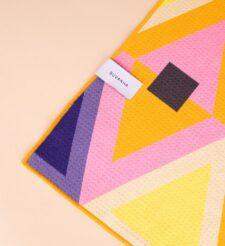 Strandlaken multicolour geometrisch buvanha ibiza