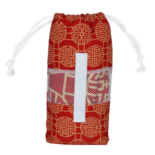 Strandlaken reishanddoek met opbergtas microvezel