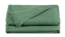 Plaid groen alpacawol