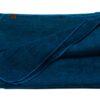 Plaid oceaan blauw alpacawol